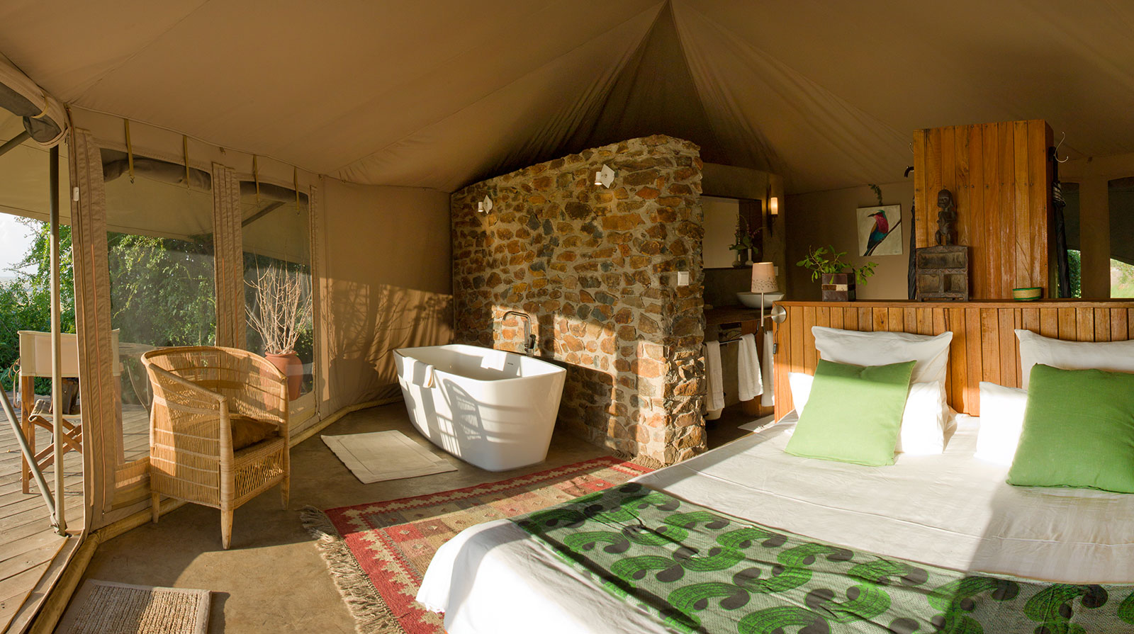 Grumeti Hills - Magnificent tented suites